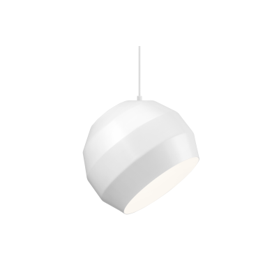 Pitch Pendant Light White