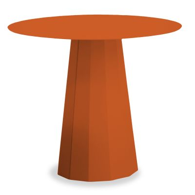 Ankara Round Lounge Table Orange - 13 RAL 2009
