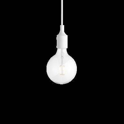 E27 Pendant Light - Ex display White
