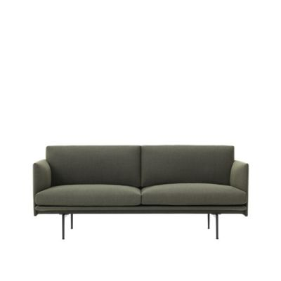 Outline Sofa - 2 Seater Fiord 961