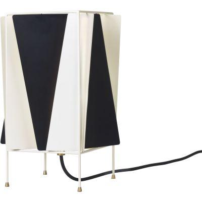 B-4 Table Lamp Black & White