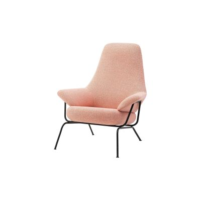 Hai Lounge Chair Melange Coral