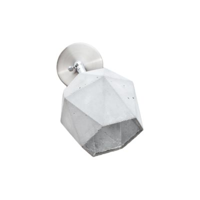 [T2] Wall Light Light Grey/Silver