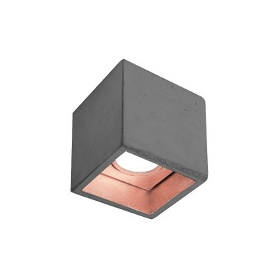 [B7] Ceiling Light Dark Grey/Copper
