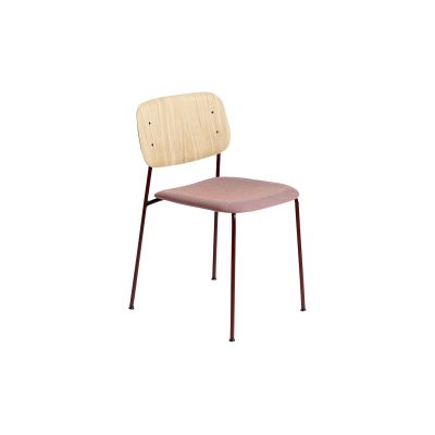 Soft edge 10 upholstery Clear Seat, Fall Red Frame, Rime 541 Upholstery, CMHR-no, Standard Glider