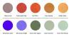 Colour Range for Morphe Collection