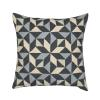 Kaleidoscope Cushion Grey Tones