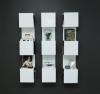 White Showcase#1 Bookcase