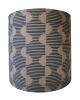 Hoof d25cm x h25cm lampshade Indigo on 100% Belgian flax linen