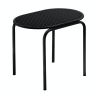 Roll Collection Stool Black