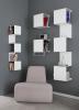 White Showcase#4 bookcase