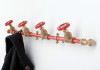 Coat Rack Single (Red)