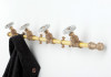 Coat Rack Single (Yellow/Grey)