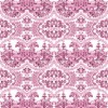 Pink - Delft Baroque Wallpaper