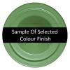 Powder Coated Sage Green Finish