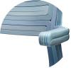 Detail of RvR Chair, Aqua Blue
