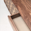 Scarpa Sideboard - walnut (detail)