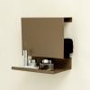 Browngrey Ledge:able Shelf