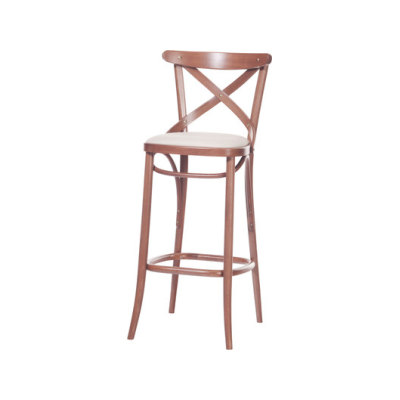 150 Barstool upholstered by TON