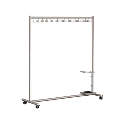 1809HS Coat stand on wheels by ESIT