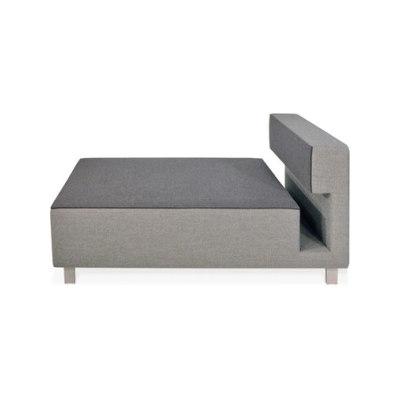 2cube Armchair Chaise Longue by PIURIC