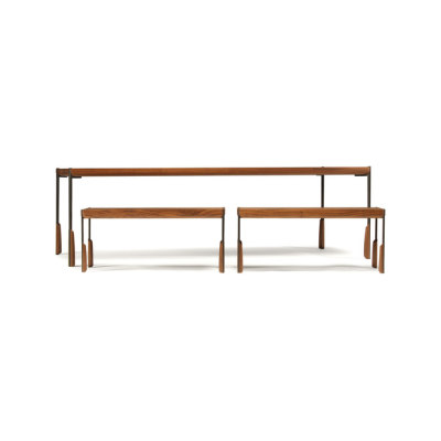 altai dining table and bench by Skram