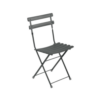 Arc en Ciel Folding Chair - Set of 12 Dark Green 75