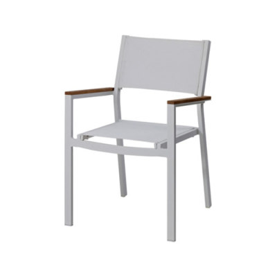 Ascent Stacking Chair With Arms by Akula Living