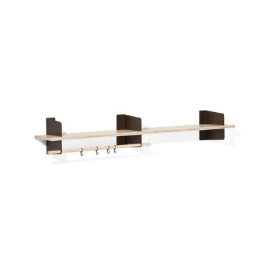 Atelier coat-rack | shelving | 2000 mm by Lampert