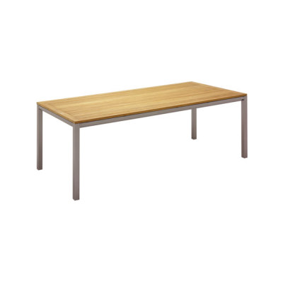Azore Dining Table 101cm x 220cm by Gloster Furniture