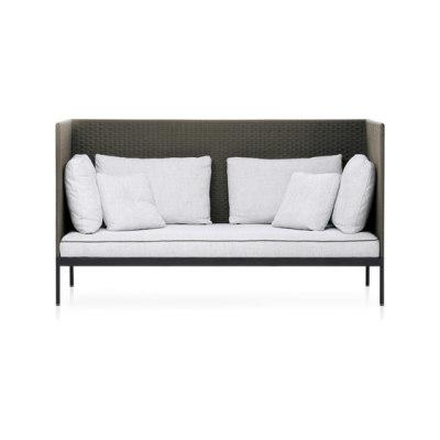 BASKET high back sofa by Roda