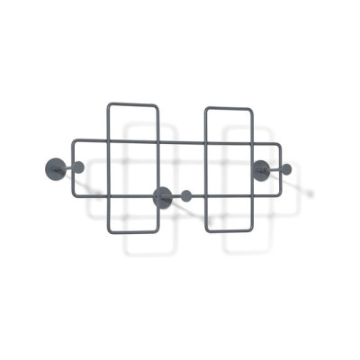 Bazar Wall-mounted rack, medium by Lampert