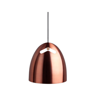 Bell+ 30 P1 Pendant oak-copper by Darø