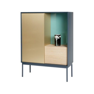 Besson Cabinet Deluxe deep blue by ASPLUND