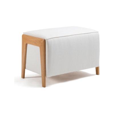 Box Wood Pouf by Inno