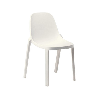 Broom Stacking Chair - Set of 2 White