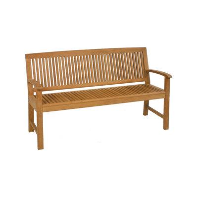 Burma bench by Fischer Möbel