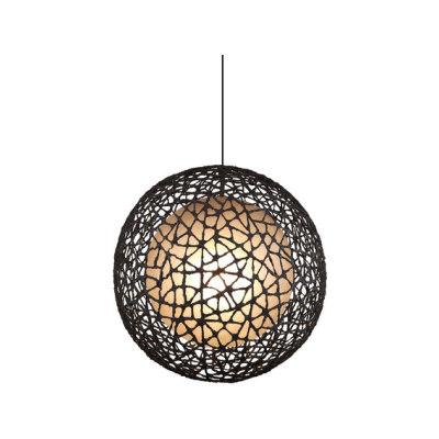 C-U C-Me Hanging Lamp round large by Kenneth Cobonpue