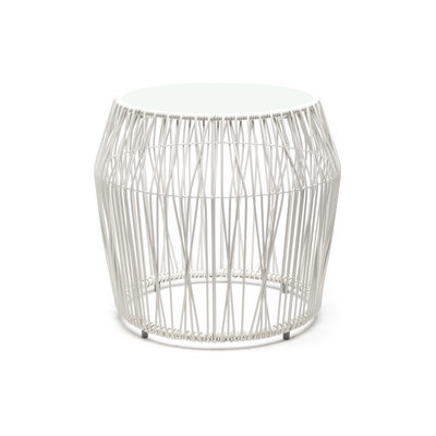 Calyx End Table round by Kenneth Cobonpue