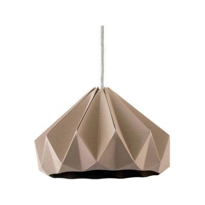 Chestnut Lamp - Chestnut Brown by Studio Snowpuppe