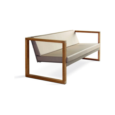 Cima Lounge Banca Teak by FueraDentro