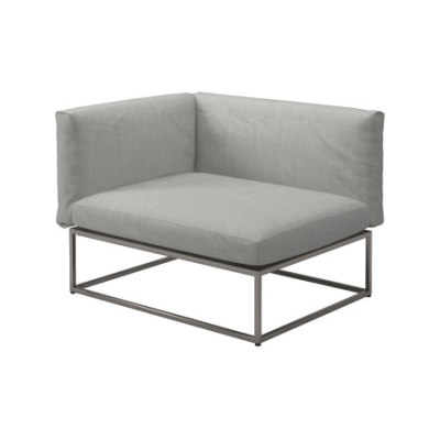 Cloud 75x100 Left End Unit by Gloster Furniture