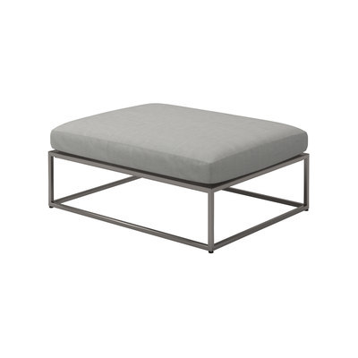 Cloud 75x100 Ottoman by Gloster Furniture