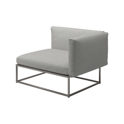 Cloud 75x100 Right End Unit by Gloster Furniture