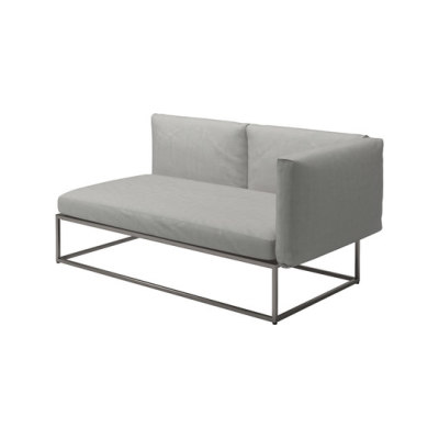 Cloud 75x150 Right End Unit by Gloster Furniture