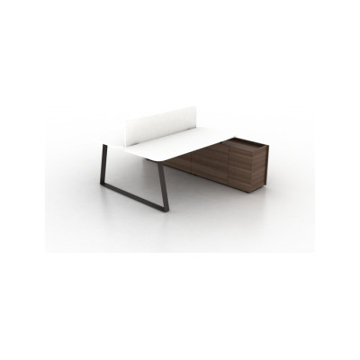 Coach Double office desk by Ergolain