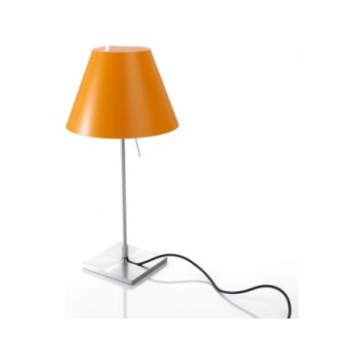 Costanzina table, Alu Base, Smart Yellow Shade