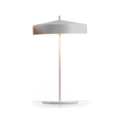 Cymbal 32 tablelamp white black by Bsweden