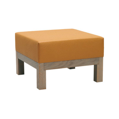 Edge Pouffe-E/46 | 70x70 by Hutten