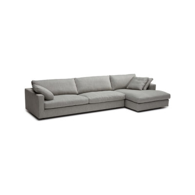 Fabio sofa/chaise longue by Linteloo